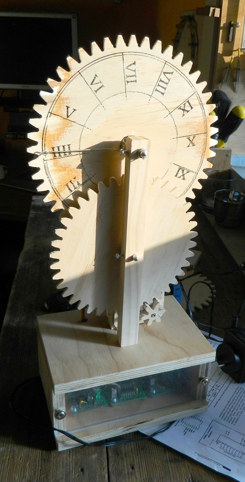 Project Wooden Synchronous Clock